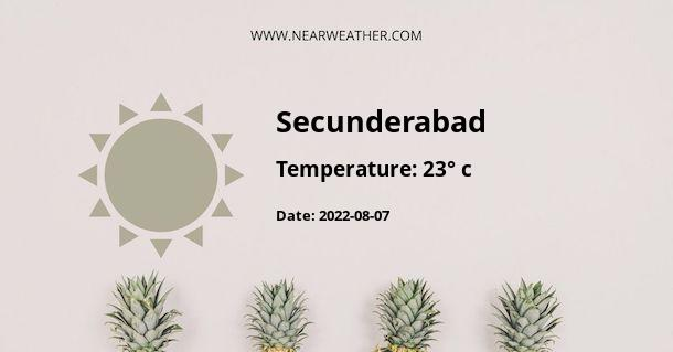 Weather in Secunderabad