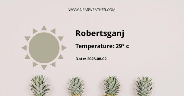 Weather in Robertsganj