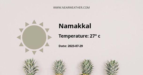 Weather in Namakkal
