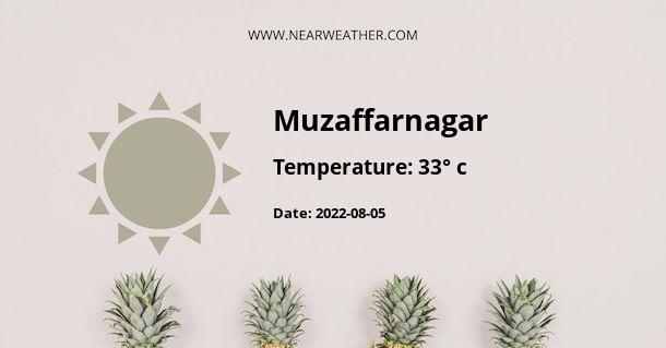Weather in Muzaffarnagar
