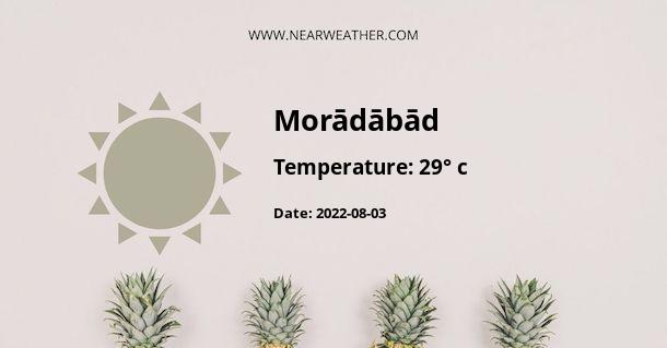 Weather in Morādābād