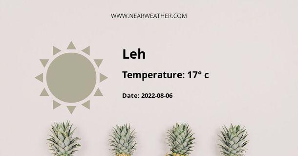 Weather in Leh