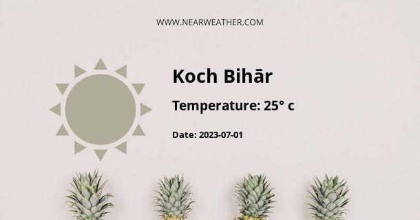 Weather in Koch Bihār