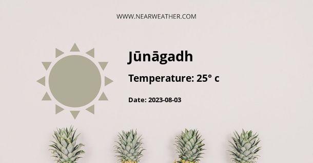 Weather in Jūnāgadh
