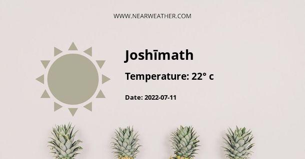 Weather in Joshīmath