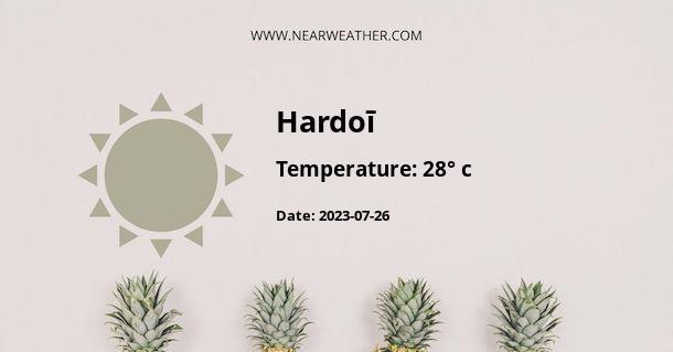 Weather in Hardoī