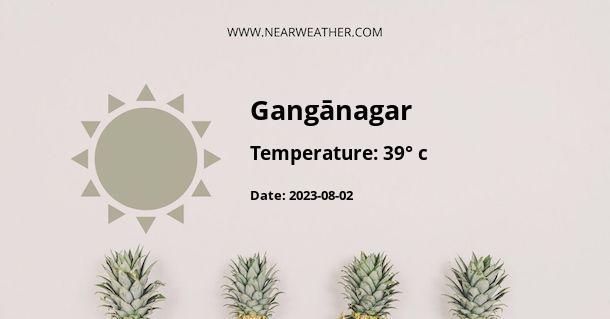 Weather in Gangānagar