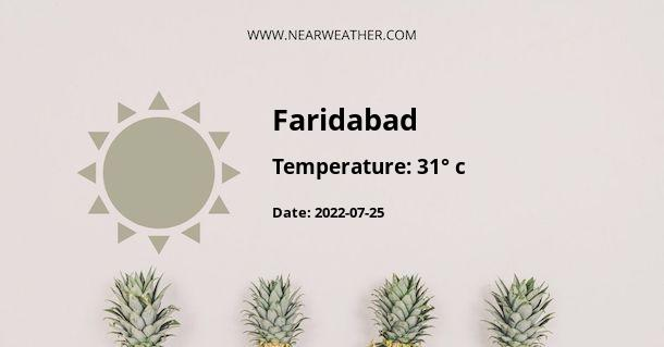 Weather in Faridabad