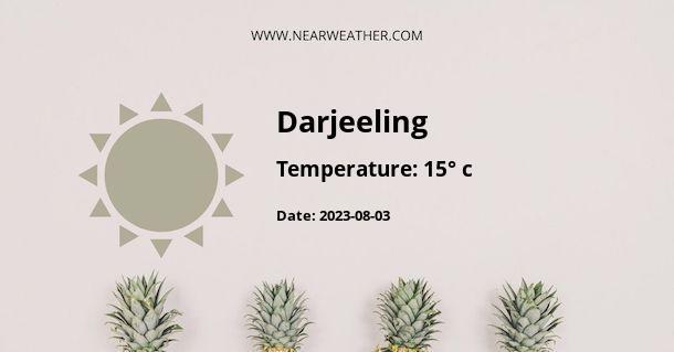 Weather in Darjeeling