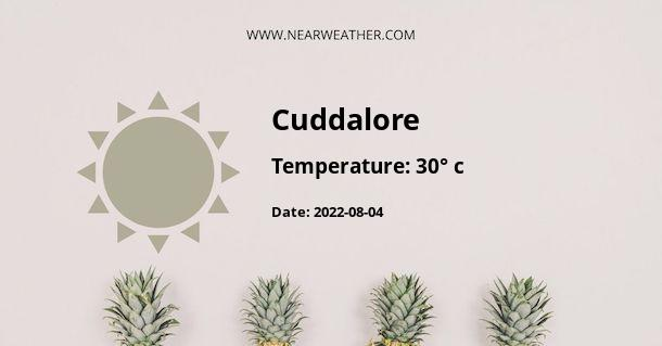 Weather in Cuddalore