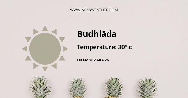 Weather in Budhlāda