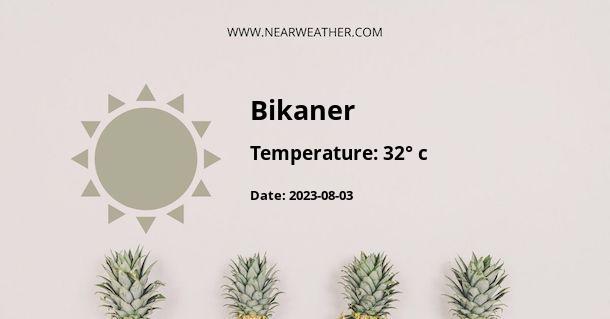 Weather in Bikaner