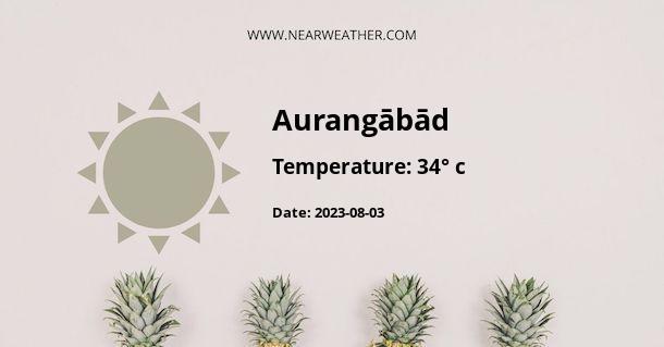 Weather in Aurangābād