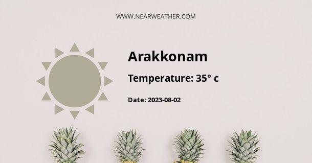 Weather in Arakkonam