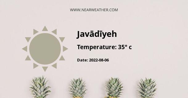 Weather in Javādīyeh