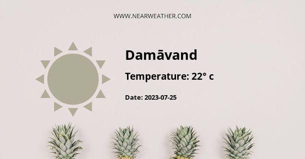 Weather in Damāvand