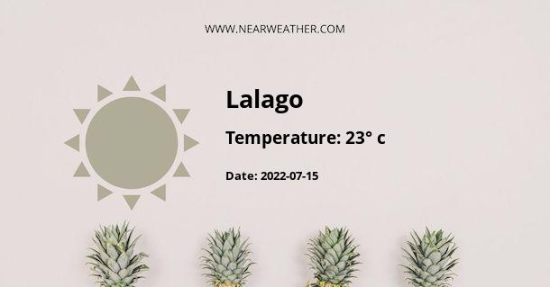 Weather in Lalago