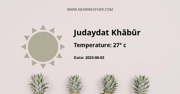 Weather in Judaydat Khābūr