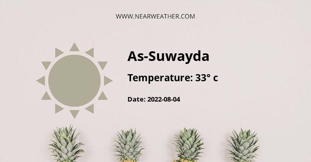 Weather in As-Suwayda