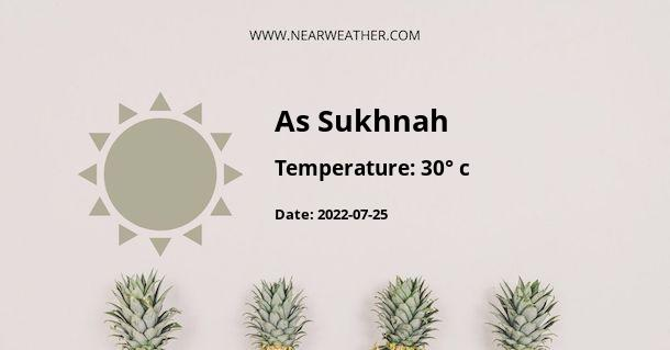 Weather in As Sukhnah
