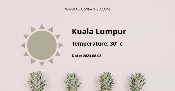 Weather in Kuala Lumpur