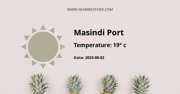 Weather in Masindi Port