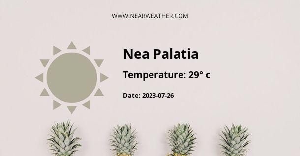 Weather in Nea Palatia