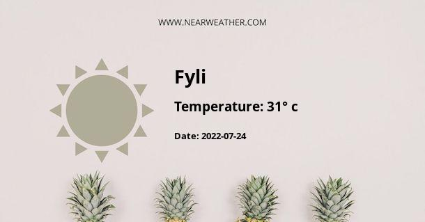Weather in Fyli