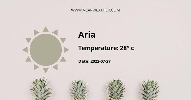 Weather in Aria