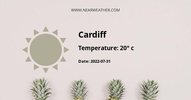 Weather in Cardiff