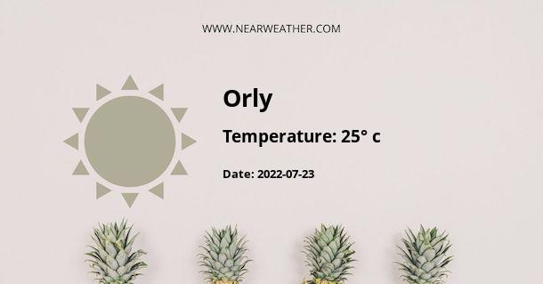 Weather in Orly