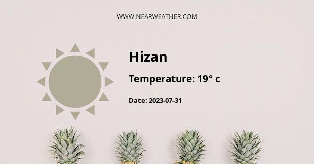 Weather in Hizan
