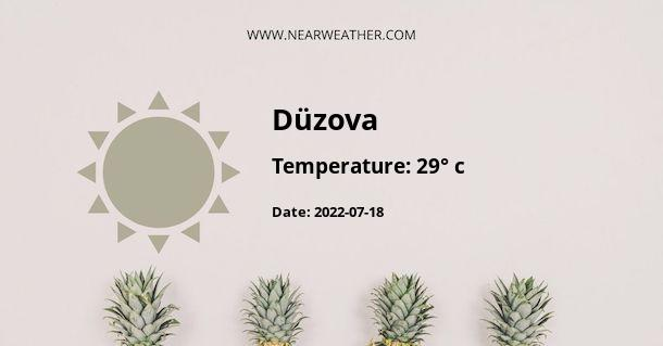 Weather in Düzova
