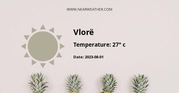 Weather in Vlorë