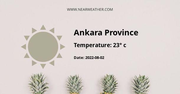 Weather in Ankara Province