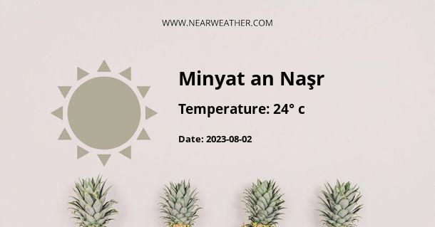 Weather in Minyat an Naşr