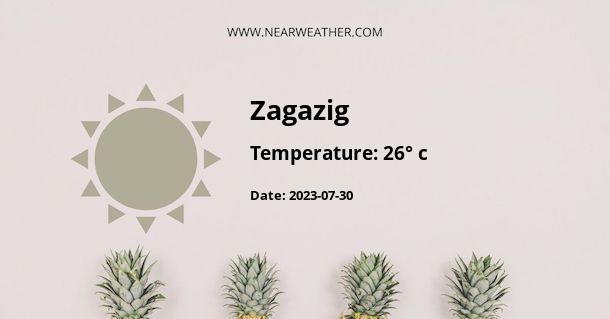 Weather in Zagazig