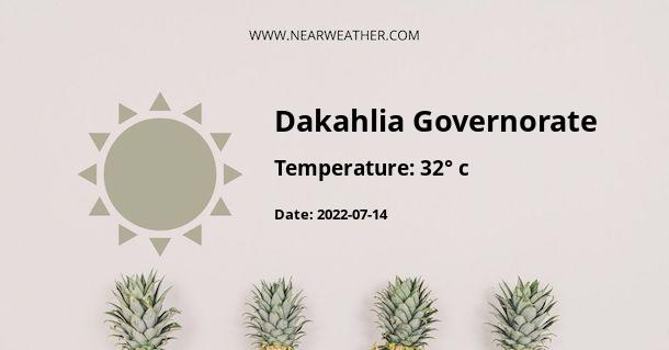 Weather in Dakahlia Governorate
