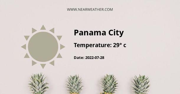 Weather in Panama City