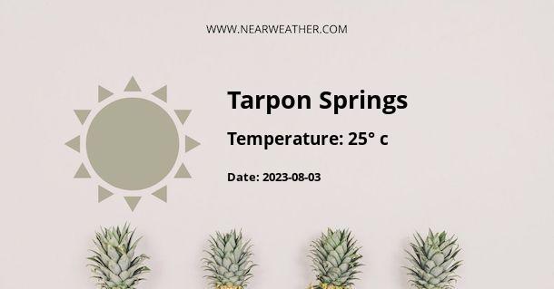 Weather in Tarpon Springs