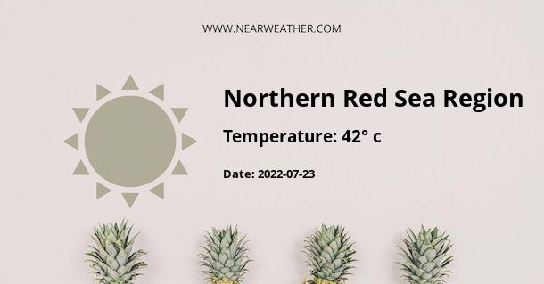 Weather in Northern Red Sea Region