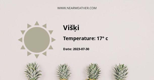 Weather in Višķi