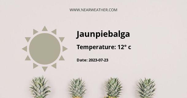 Weather in Jaunpiebalga