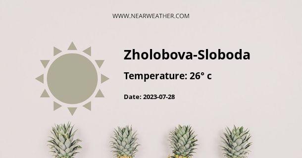 Weather in Zholobova-Sloboda