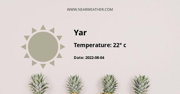Weather in Yar