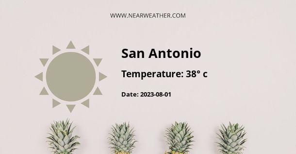 Weather in San Antonio
