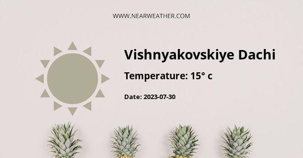 Weather in Vishnyakovskiye Dachi