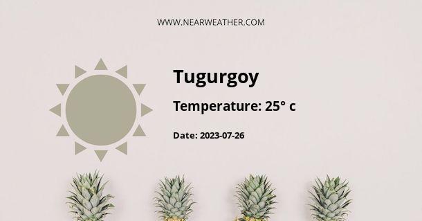 Weather in Tugurgoy