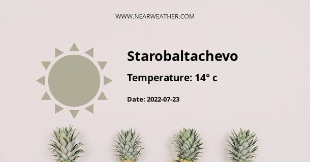 Weather in Starobaltachevo