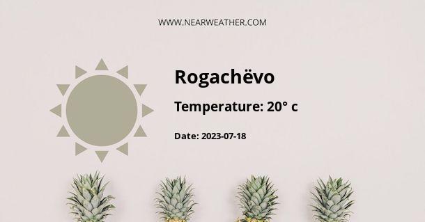 Weather in Rogachëvo